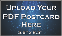 "Postcards 5.5""x8.5""- Upload Your File"